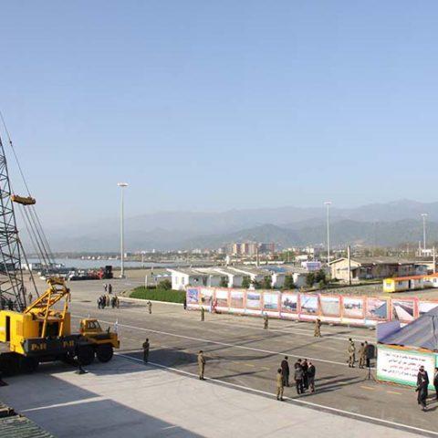 افتتاح رسمی بندر تجاری آستارا
