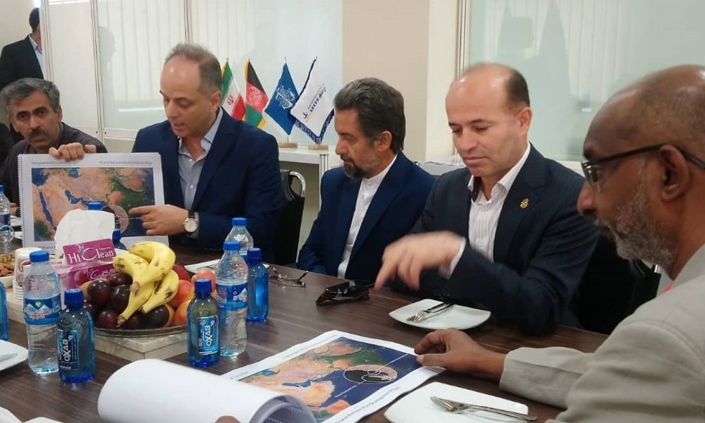 بازدید سفیر هندوستان در ایران از بندر چابهار